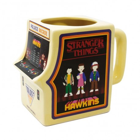 TAZZA STRANGER THINGS - 3D SHAPPED MUG PALACE ARCADE