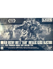 HG GUNDAM UNIVERSAL CENTURY SCALA 1:144 BLUE DESTINY UNIT 3 EXAM (METALLIC GLOSS INJECTION)