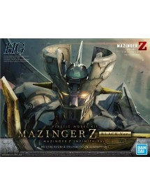 HG PLASTIC MODEL KIT MAZINGER Z INFINITY BLACK VER.