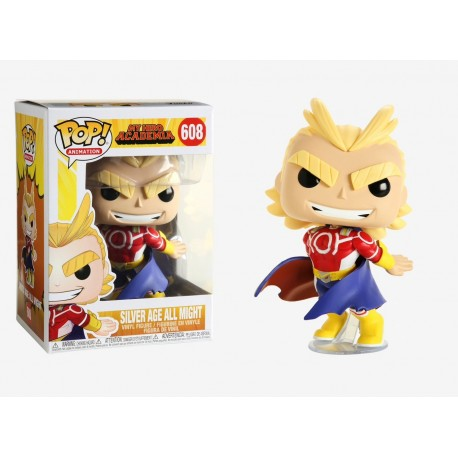 POP ANIMATION 608 MY HERO ACADEMIA - SILVER SGE ALL MIGHT