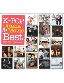 K-POP CD K-POP DRAMA & MOVIE BEST