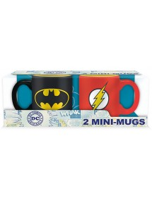 TAZZA DC SET TAZZINE DA CAFFE' BATMAN & FLASH