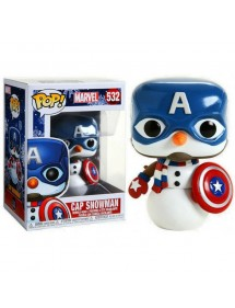 POP MARVEL 532 CAP SNOWMAN