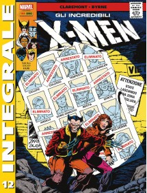 INCREDIBILI X-MEN MARVEL INTEGRALE 12