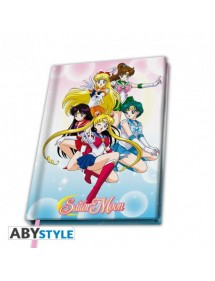 SAILOR MOON NOTEBOOK A5
