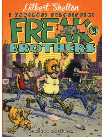 FREAK BROTHERS 3 URBAN PARADISE