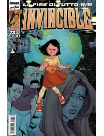 INVINCIBLE MENSILE 72 COVER A
