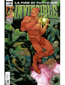 INVINCIBLE MENSILE 72 COVER B