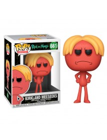 POP ANIMATION 661 RICK AND MORTY - KIRKLAND MEESEEKS