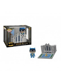 POP TOWN 9 BATMAN WITH THE HALL OF JUSTICE