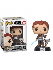 POP STAR WARS 337 CAL KESTIS & BD-1