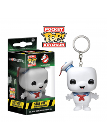 POP POCKET KEYCHAIN GHOSTBUSTERS - STAY PUFT