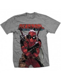 T-SHIRT  DEADPOOL BIG PRINT TG.XL