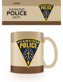TAZZA STRANGER THINGS - HAWKINS POLICE