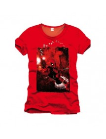 T-SHIRT  DEADPOOL SHOT GUN TG L