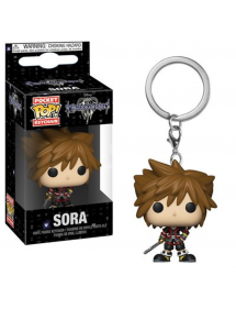 POP POCKET KEYCHAIN KINGDOM HEARTS III - SORA