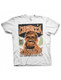 T-SHIRT  STAR WARS - CHEWBACCA BACK TO KASHYYYK TG.XXL