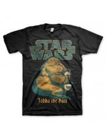 T-SHIRT  STAR WARS - JABBA THE HUTT TG.L