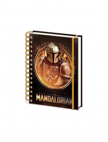 STAR WARS NOTEBOOK A5 THE MANDALORIAN