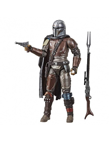 STAR WARS THE BLACK SERIES CARBONIZED THE MANDALORIAN (15CM)