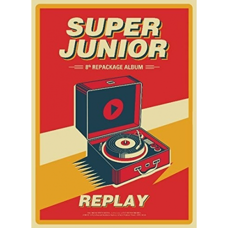 K-POP CD Super Junior - Replay