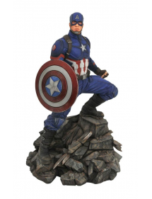 MARVEL PREMIERE COLLECTION RESIN STATUE AVENGERS END GAME CAPTAIN AMERICA