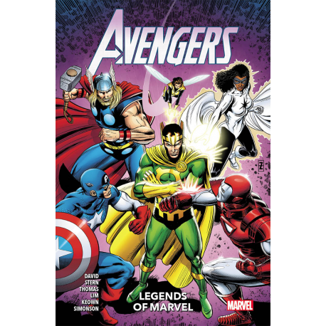 AVENGERS LEGENDS OF MARVEL VOLUME UNICO