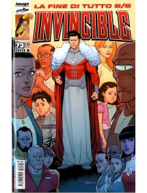 INVINCIBLE MENSILE 73 COVER A O COVER B