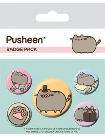 SPILLE PACK PUSHEEN BADGE PACK FRANCY