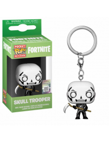 POP POCKET KEYCHAIN FORTNITE - SKULL TROOPER