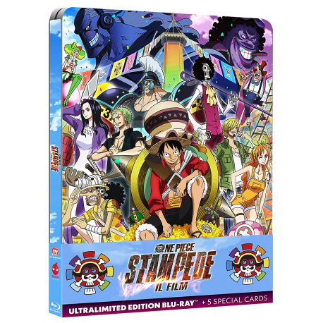 ONE PIECE ULTRALIMITED EDITION + 5 SPECIAL CARD STEELBOOK