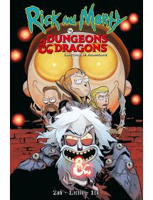 RICK AND MORTY DUNGEONS&DRAGONS CAPITOLO II PAINSCAPE
