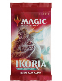MAGIC IKORIA TERRA DEI BEHEMOTH BUSTINA 15 CARTE