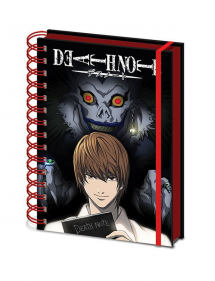 DEATH NOTE NOTEBOOK A5 SHADOW