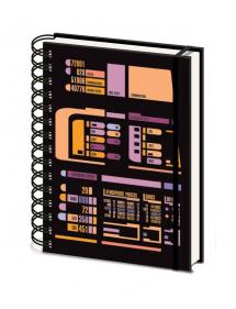 STAR TREK NOTEBOOK A5 CONTROL PANEL