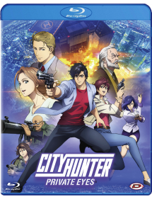 CITY HUNTER PRIVATE EYES BLU-RAY