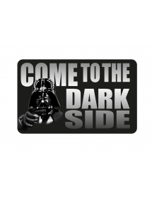 ZERBINO - DOOR MAT - TAPPETO STAR WARS - COME TO THE DARK SIDE 80X50M