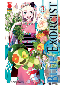 BLUE EXORCIST 3 TERZA RISTAMPA