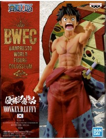 BWFC BANPRESTO WORLD FIGURE COLOSSEUM ONE PIECE - MONKEY.D.LUFFY
