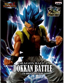 DRAGON BALL Z DOKKAN BATTLE COLLAB SUPER SAIYAN GOD SUPER SAIYAN GOGETA 18CM