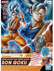 ENTRY GRADE 2 SUPER SAIYAN GOD SUPER SAIYAN SON GOKU