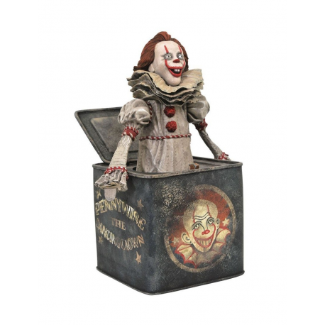 GALLERY PVC STATUE IT CHAPTER II - PENNYWISE IN THE BOX