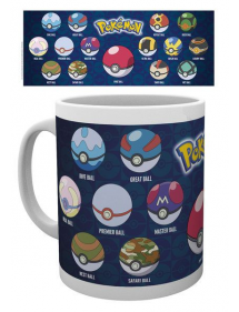 TAZZA POKEMON - Ball Varieties