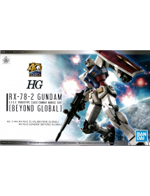 HG GUNDAM 1/144 RX-78-2 GUNDAM BEYOND GLOBAL