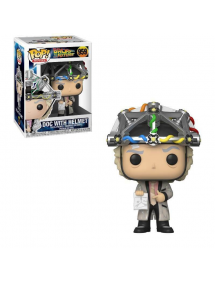 POP MOVIES 959 BACK TO THE FUTURE - DOC WITH HELMET