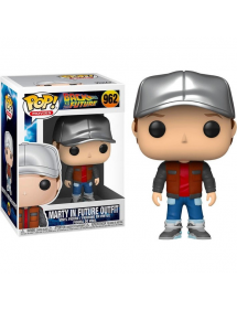 POP MOVIES 962 BACK TO THE FUTURE - MARTY IN FUTURE OUTFIT