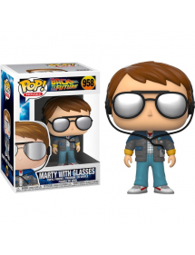 POP MOVIES 958 BACK TO THE FUTURE - MARTY WITH GLASSES