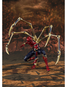 S.H.FIGUARTS MARVEL AVENGERS IRON SPIDER FINAL BATTLE EDITION
