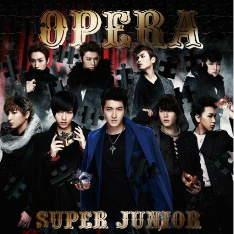 K-POP CD Super Junior - Opera