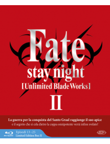 FATE STAY NIGHT UNLIMITED BLADE WORKS STAGIONE 2 BOX BLU-RAY